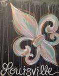 Louisville fleur de lis